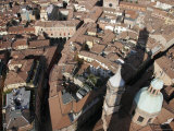 Bologna from the Torre Degli Asinelli Tower  Italy