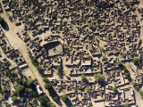 Bilma is a Complex Maze of Hidden Chambers Constructed from Salt Slab  Niger