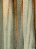 Closeup of Columns of the Supreme Court Building  Washington  DC