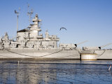 Battleship USS Massachusetts