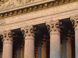 Closeup of the US Supreme Court Building  Washington  DC