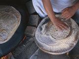 Israel: Woman Baking Bread