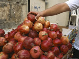 Israel  Jerusalem: Pomegranates in the Street