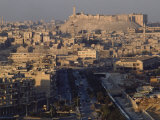 Aleppo with its Citadel
