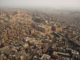 Aerial View of Cairo  Egypt