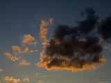 Image of Clouds at Sunset  Massachusetts