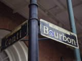 Famous Street Sign in New Orleans