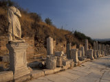 Curates Street in Ephesus  Turkey