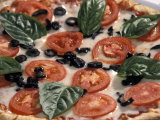 Fresh Italian Pizza at Patrizio Restaurant at Highland Park Village in Dallas  Texas