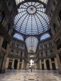 King Umberto I Shopping Arcade Across from the Palace in Naples  Italy