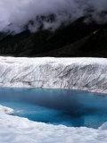 Glacial Pool on Root Glacier  Alaska