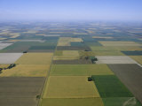 Aerial of Agricultural Fields