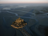 Aerial View of Mont-Saint-Michel  France