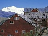 Kennicott Mine Leaching Plant and Mount Blackburn In  Alaska