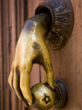 Hand Shaped Door Knocker  San Miquel de Allende  Mexico