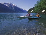 Kayaking on Chilkoot Lake and the Takshanuk Mountains