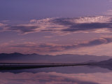 Great Salt Lake at Dusk  Utah