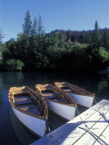 Handmade Row Boats at the Quiet Place Lodge  Alaska