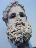 Head of Zeus at the Acropolis Museum in Athens  Greece