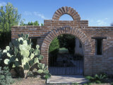 El Presidio Silversmith Archway and Bricks in Tubac Presidio