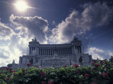 Monument to Vittorio Emanuele II at the Piazza Venezia in Rome  Italy