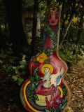 Elaborately Painted Guitar Case of Environmental Activist  California