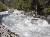 Maximum Flow of the South Fork Kings River  California