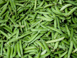 Green Beans at an Outdoor Market in New York City