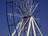 Old Broken Ferris Wheel