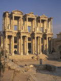 Library of Celsius in Ephesus  Turkey