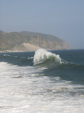 Dancing Wave Formation in Malibu California