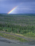 Rainbow and the Copper River  Alaska