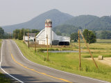 Rural Road and Barn