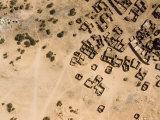 Salt Village and Wells  Niger  Africa