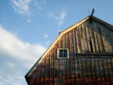 Old Barn on a Farm near Princeton  Nebraska