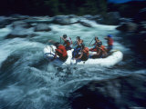 Rafting in Whitewater Rapids  Washington