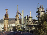Retired Petrochem Refinery  Ventura  California