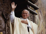 Pope John Paul II Celebrates Mass Before a Crowd of over 750 000 Gdansk in June  1987
