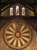 The Roundtable  Built During King Arthur's Reign  Hanging in the Great Hall in Winchester  England