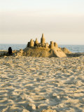 Sand Castle on East Beach  California