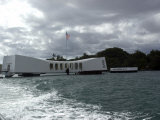 Memorial of Pearl Harbor  Hawaii