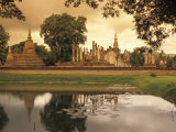 Sukhothai Historical Park in Sukhothai  Thailand