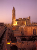 Sound and Light Show at Jerusalem City Museum of Citadel of David and Jaffe Gate