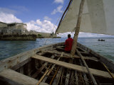 Sailing Around Fort Sebastian  Mozambique