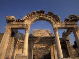 Temple of Hadrian in Ephesus  Turkey