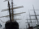 Old Sailing Ships at South Street Seaport  New York  New York