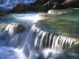 Traverten Water Fall Below Havasu Falls