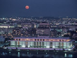 The Kennedy Center Lit Up at Night  Washington  DC