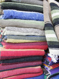Stack of Mexican Blankets  Cabo San Lucas  Mexico