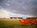 The Cessna Makes a Pit Stop to Refuel on the Serengeti  Tanzania